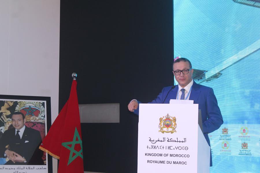 cop22 de marrakech le minist re du transport et de la logistique expose ses engagements pour. Black Bedroom Furniture Sets. Home Design Ideas