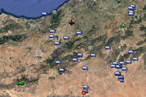 خطير : ألأقمار الصناعية تفضح النوايا العسكرية العدوانية لقادة الجزائر ضد امن المغرب …وتكشف بناء الجزائر لعدة قواعد عسكرية بالقرب من الحدود المغربية VIDEO