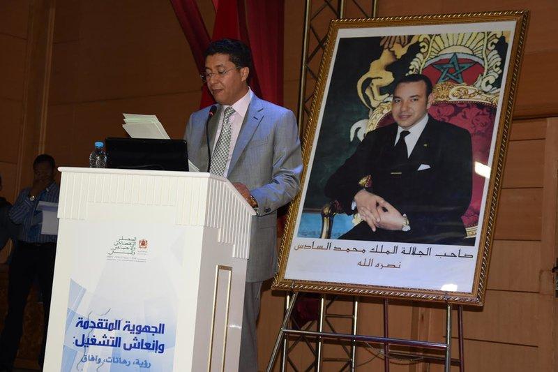 VIDEO عبد النبي بعيوي يؤكد على أن مجلس جهة الشرق يضع التشغيل على رأس قائمة أولوياته وانشغالاته