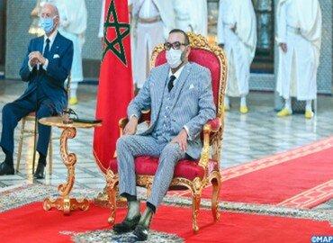 Le Roi Mohammed VI lance le projet de fabrication et de mise en seringue au Maroc du vaccin anti-COVID-19 et autres vaccins