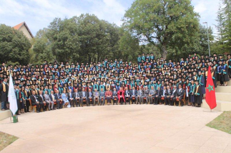 L'Université Al Akhawayn d'Ifrane fête sa 20ème promotion