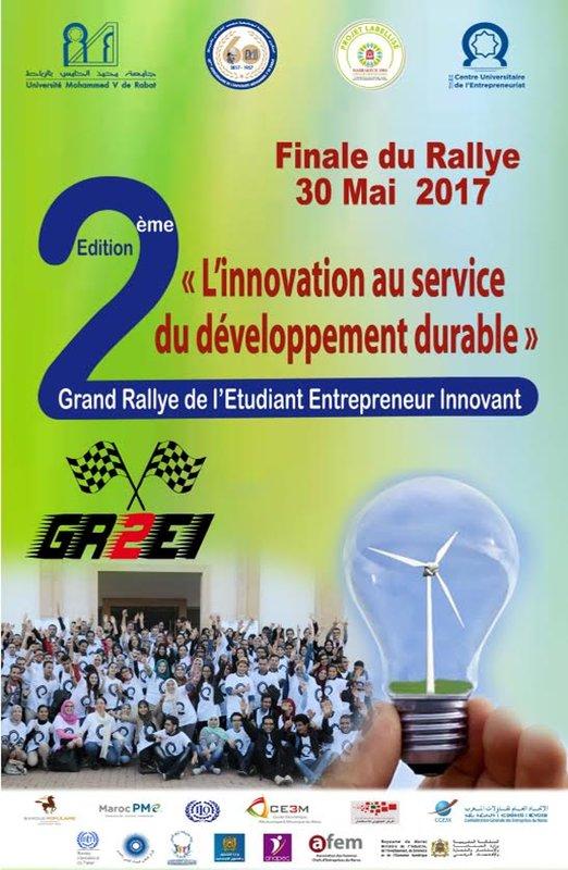 UNIVERSITE MOHAMMED V DE RABAT Trois projets primés à la finale du Rallye de l'Etudiant Entrepreneur Innovant