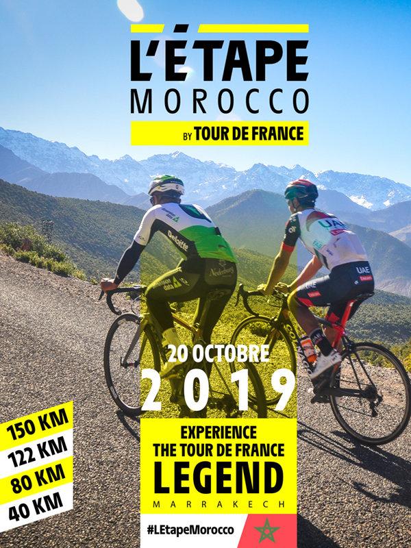 """TOUR DE FRANCE: """"L'Étape Morocco by Tour de France"""" une première cyclosportive sur le continent africain"""