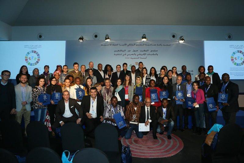 » Déclaration de Marrakech des jeunes adolescents Africains et Arabes en marche vers un développement durable «