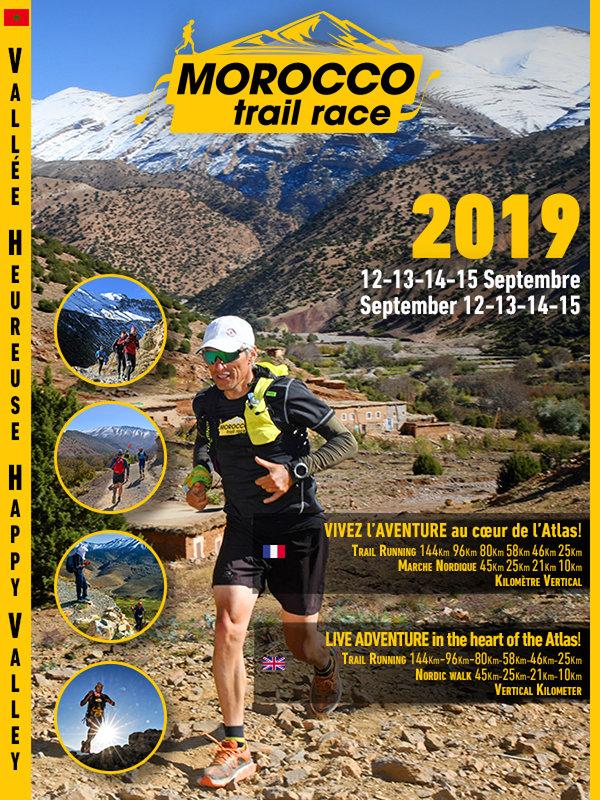 La Vallée Heureuse d'Ait Bouguemmaz Au Rendez-vous avec La 5ème édition du Morocco Trail Race « La fête du sport Outdoor »