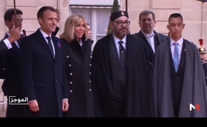 SM le Roi prend part à Paris à la cérémonie internationale de commémoration du centenaire de l'Armistice