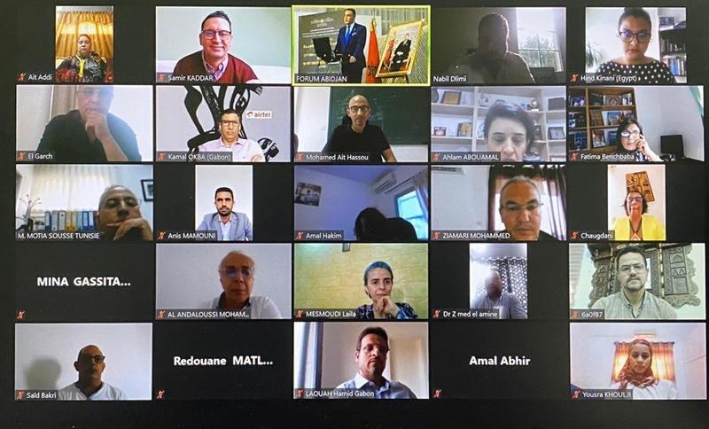 تنظيم المنتدى الأول للكفاءات المغربية بإفريقيا من أبيدجان بمشاركة 145 كفاءة من 12 دولة