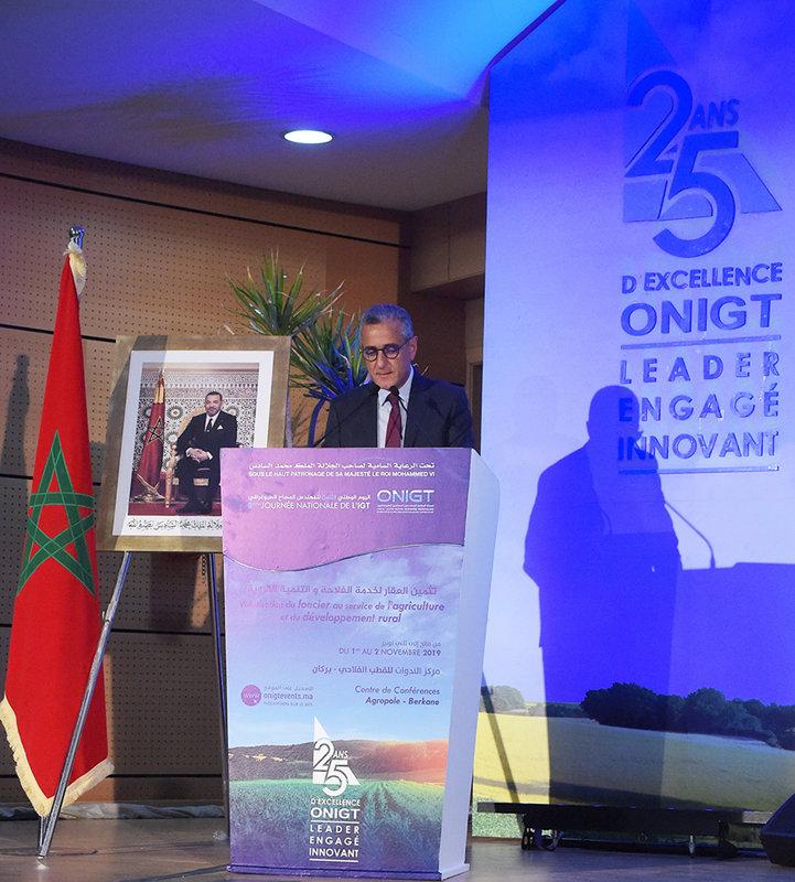 Discours de Monsieur le Directeur Général à l'occasion de la 8ème Journée Nationale de l'Ingénieur Géomètre Topographe