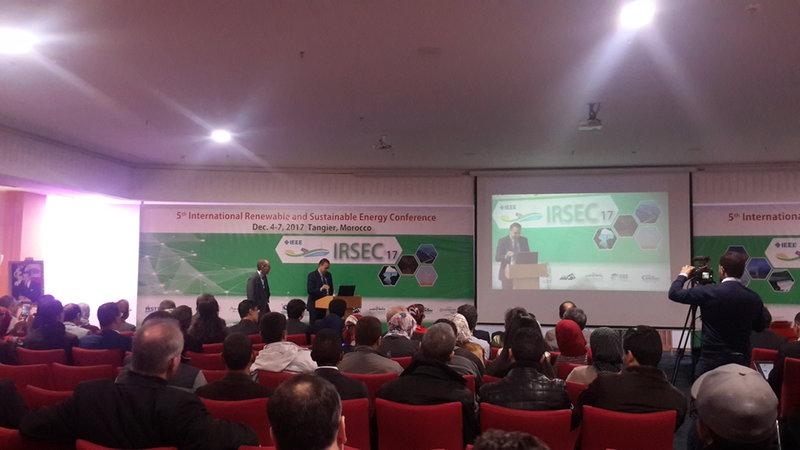 Université Mohammed V de Rabat ORGANISE: La 5ème Conférence Internationale sur les Energies Renouvelables