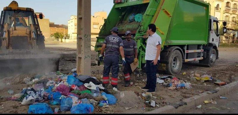 عمال النظافة.. المعذبون يوم العيد