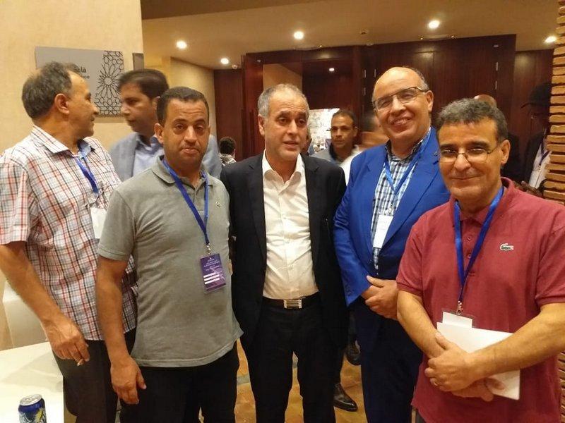 الفرع الجهوي للنقابة الوطنية للصحافة المغربية بوجدة يفوز لأول مرة في تاريخه بثلاثة مقاعد ضمن المجلس الوطني الفيدرالي