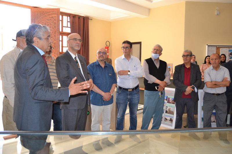 جامعة محمد الأول بوجدة تقيم معرضا تاريخيا والرئيس ياسين زغلول يدعو إلى إنشاء متحف جامعي بمواصفات عالمية