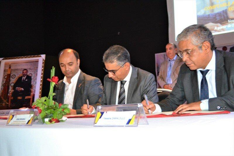 اتفاقية شراكة بين جامعة وجدة وهيئتي المحاسبين والمقاولين تخدم مصالح الطلبة