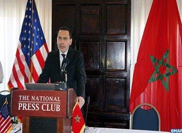 السيد الخلفي يدحض في لقاء بنادي الصحافة بواشنطن أباطيل خصوم المغرب حول حقيقة النزاع في الصحراء المغربية