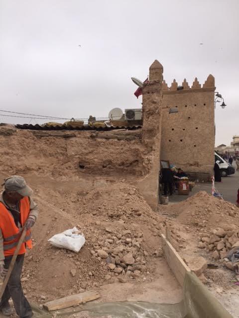 بلاغ توضيحي بخصوص ترميم سورباب سيدي عبد الوهاب وقيساريات المدينة القديمة بوجدة