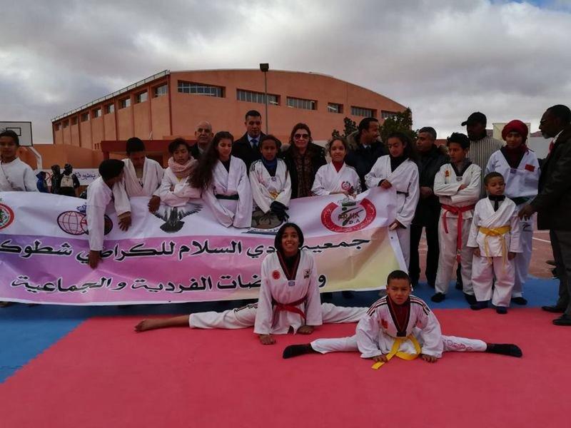 D.R.M.J.S : organisation d' un village sportif au profit des enfants de la ville de Bouarfa