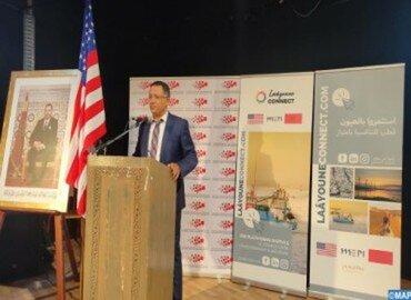 مدينة العيون ـ الصحراء المغربية : اطلاق المنصة الرقمية للتسويق الترابي «العيون كونيكت.كوم» بدعم من الولايات المتحدة