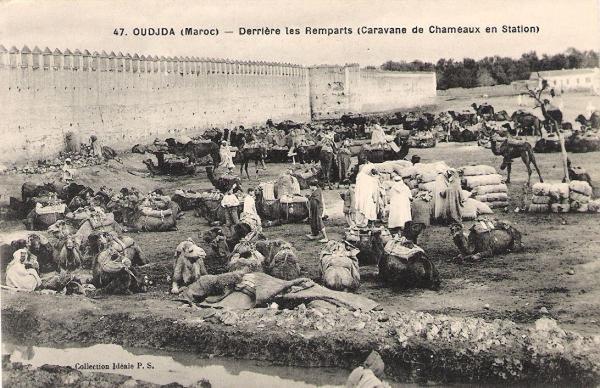 Histoire de la ville d\'oujda (résumé)