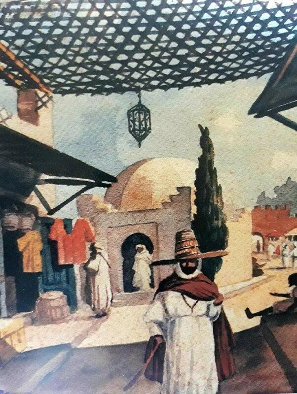 ذاكرة مدينة وجدة المعرفية: تاريخ الفنون التشكيلية بوجدة من خلال الأرشيف الفرنسي (1936-1938) – الحلقة 115