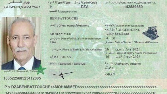 Erreur monumentale du Gouvernement espagnol, celle d'avoir accueilli le terroriste Brahim Ghali sous identité algérienne