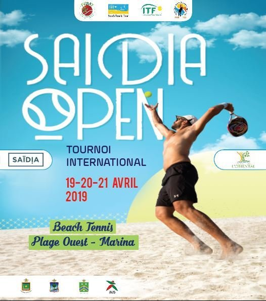 Tournoi International ITF Beach Tennis tour à Saidia du 19 – Avril au 21- Avril -2019