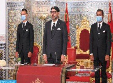 Discours de SM le Roi à l'occasion du 22ème anniversaire de l'accession du Souverain au Trône de Ses glorieux ancêtres.