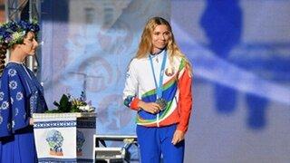 بعد رفضها العودة لبلادها.. العداءة البيلاروسية المستبعدة من الأولمبياد تبيع ميداليتها لمساعدة الرياضيين المضطهدين في بلادها